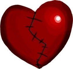 Fille au coeur brisé écoute